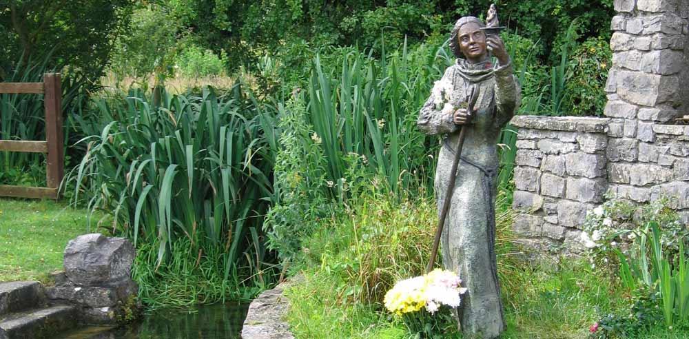 Brigid-Statue