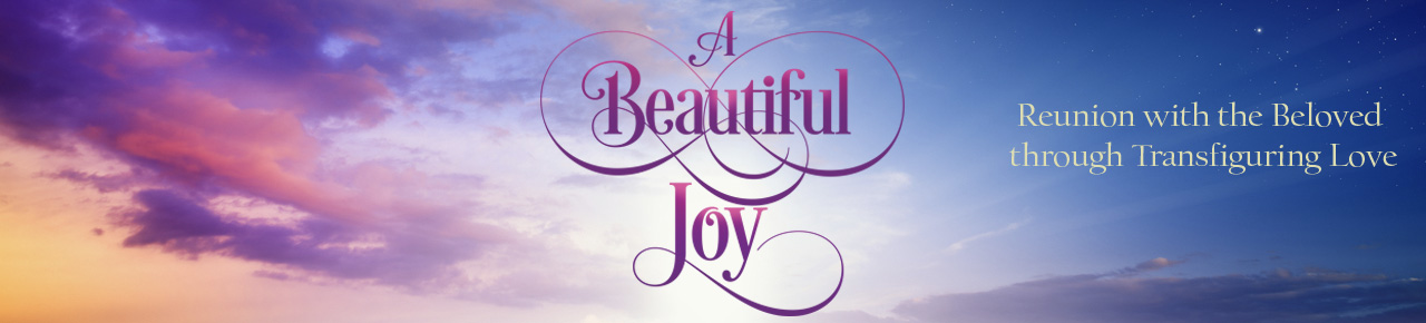 A Beautiful Joy Banner - plain